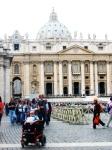 Monica at Vatican City